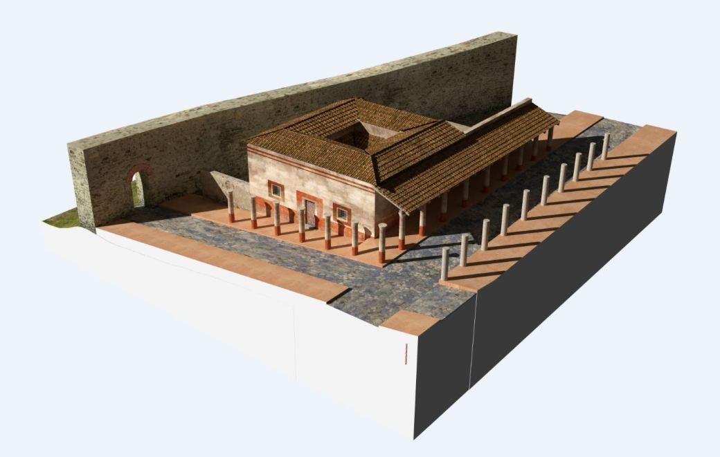 Arkeographos -Casa de los marmoles - fase 1