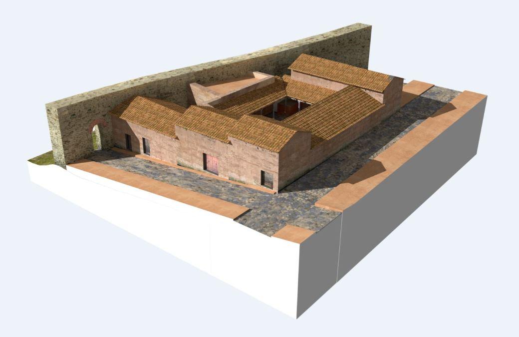 Arkeographos -Casa de los marmoles - fase 2