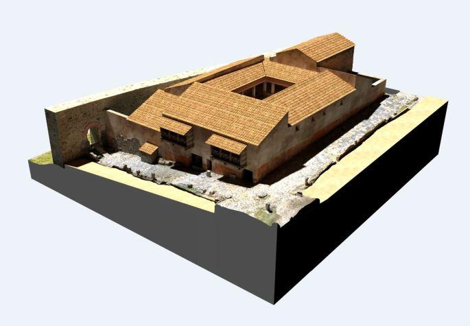 Arkeographos -Casa de los marmoles - fase 3